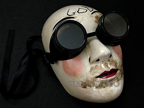MasqStudio The Purge GOD Anarchy Movie mask with Goggles Horror Killer Halloween Purge Costume Party]()