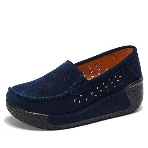 de Mocasines conducci Primavera Zapatos Oto Slip de y Gamuza Ons Zapatos mujer o gYYFwdq