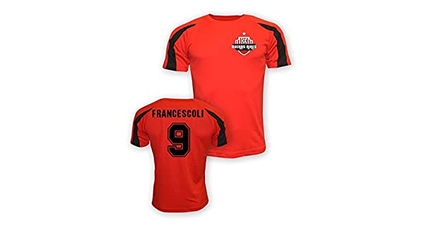 Enzo Francescoli River Plate Sports Training Jersey (red): Amazon.es: Deportes y aire libre
