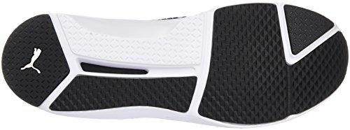 Puma white Fierce Mujer Negro Eng black Zapatillas 01 Mesh 00wrxUq