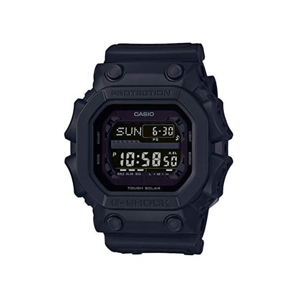 Casio G-SHOCK Reloj Digital, Reloj radiocontrolado y solar, 20 BAR, Negro, para Hombre, GX-56BB-1ER 2