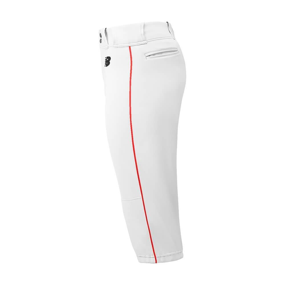 New Balance PANTS ボーイズ B072K3NJ98 Medium|ホワイト/レッド ホワイト/レッド Medium