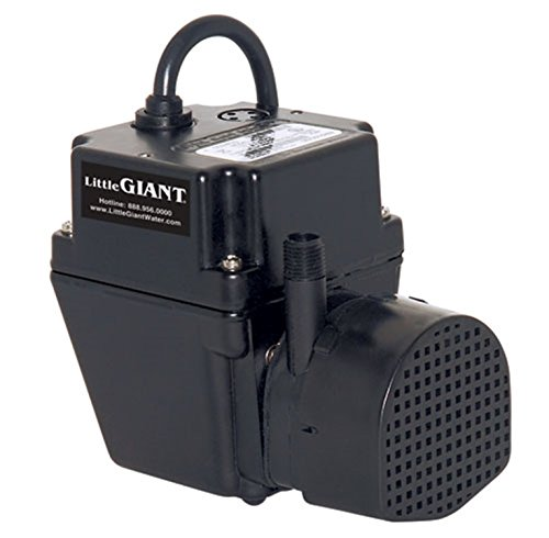 Little Giant 2E-38N-WG Permanently Lubricated Small Submersible Pump
