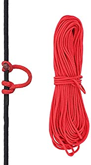 Bowstring Loop, Archery Compound Bow D-Loop Rope Wire String Bow Release Nock Loop Accessory