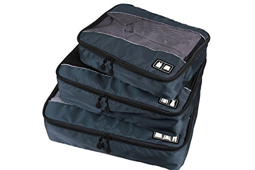 Aomagic Travel Packing Storage Organizers For Luggage, Travel Packing Cubes 3 Pcs(Small/Medium/Large) For Suitcase - Stores You Target Near