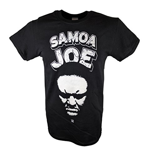 Samoa Joe Muscle Buster WWE Mens Black T-shirt-XL by WWE