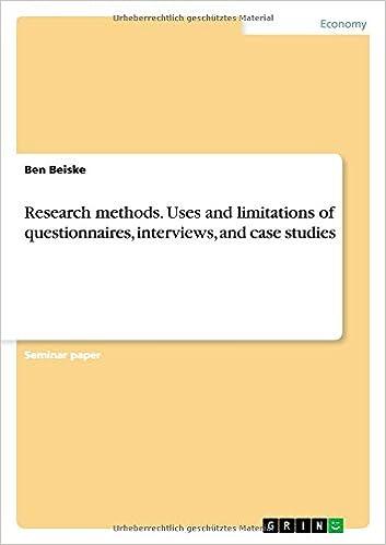 Case studies research methods