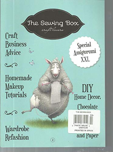 THE SEWING BOX, CRAFT LOVER, 2 SPECIAL AMIGURUMI XXL ~ by Generic