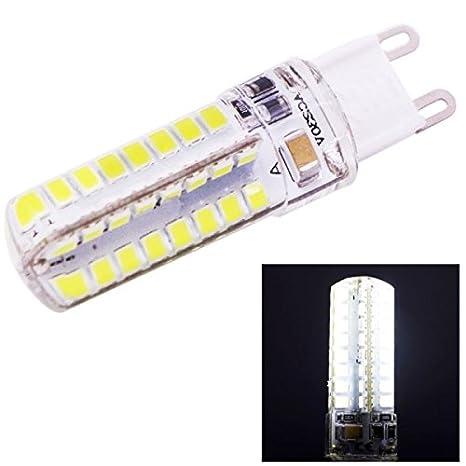 G9 4 W luz fría Light 250 - 270LM 64 LED SMD 2835 Bombilla LED Light, AC 220 V: Amazon.es: Electrónica