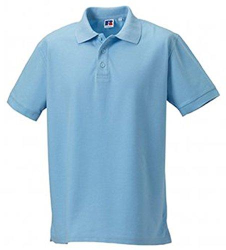 Jerzees Ultimate Pique Polo Shirt XXL Sky Blue