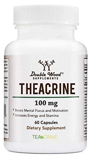 Theacrine (Teacrine) - Energy and Stamina Boosting Supplement - 100 Mg - 60 Capsules