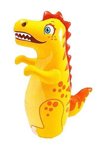 "38"" 3D Dinosaur Animal Big Time Toys Bop Bag  - Blow Up Infl"