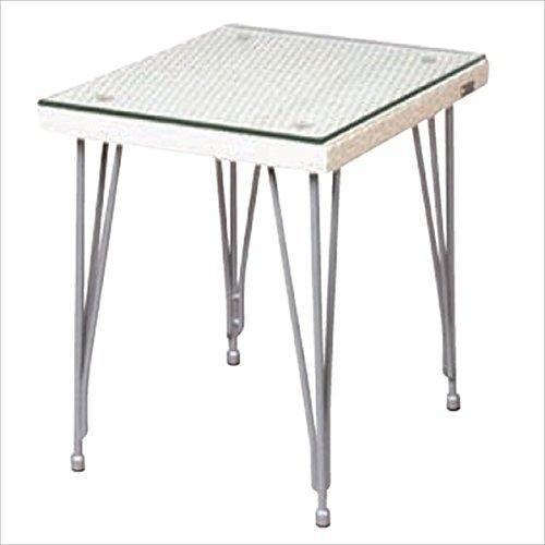 ガーデンテーブル Seba セバシリーズ サイドテーブル /アイボリー B076BPWQ2F