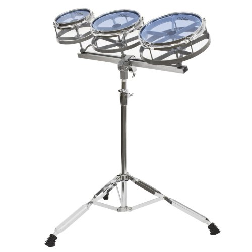 Kalos KP_6810 Roto Tom Set 6-Inch, 8-Inch and 10-Inch Toms with Stand by Cecilio
