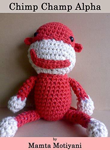 Amazon Chimp Champ Alpha A Cute Crochet Amigurumi Chimpanzee