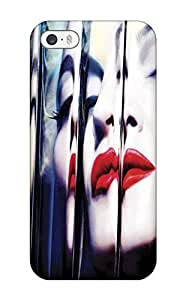 Awesome Madonna Mdna Flip Case With Fashion Design For Iphone 5/5s
