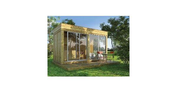 Cenador de jardín de madera de 8 m² a 21 m²: Amazon.es: Bricolaje y herramientas