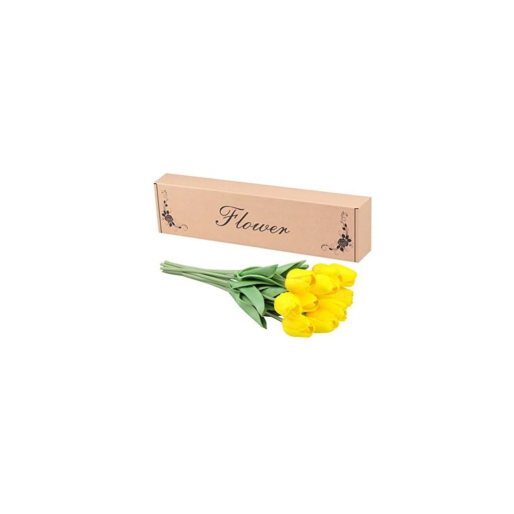 Artificial-Tulips-Meiwo-10-Pcs-Fake-Tulips-Flowers-for-Wedding-Bouquets-Home-Decor-Party-Graves-Arrangement