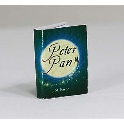 Dollhouse Miniature 1:12 Scale Miniature Book Peter Pan: Toys & Games