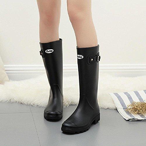 Alger boots 37 Rain Fashion Spring Martin PVC 7wB7fr0