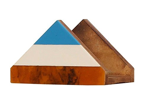 SouvNear 190803001516 Napkin Holder in Triangle Shape with B