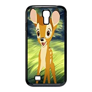 Samsung Galaxy S4 I9500 Phone Case Black Bambi DTW8050247