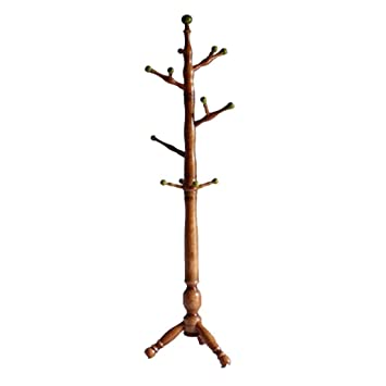 HhGold Perchero Árbol de Navidad Madera Creativo Simple Moderno Interior Dormitorio Piso Percha Tamaño: 180x45x475 Moda (Color : -, tamaño : -): Amazon.es: ...