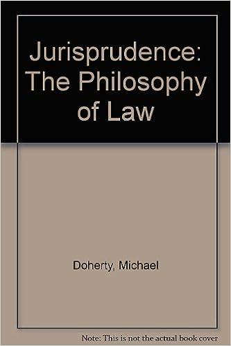 Jurisprudence: The Philosophy of Law
