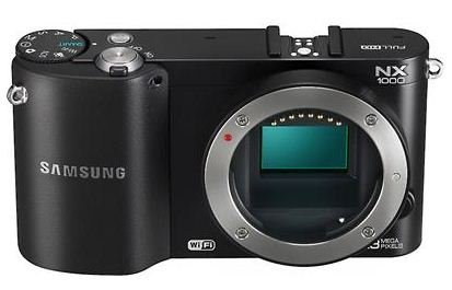 Samsung NX1000 Black ~ 20.3MP Digital Camera Body Only