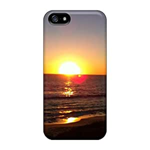 phone covers Anti-scratch And Shatterproof The Shades Of Sunrise Phone Case For iPhone 5c/ High Quality Tpu Case