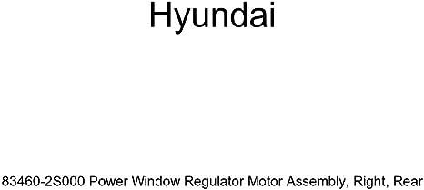 Genuine Hyundai 82450-2B000 Power Window Regulator Motor Assembly Left