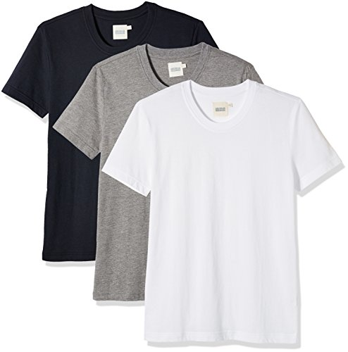 Something for Everyone Men's 3-Pack Short Sleeve Crewneck T-Shirt L (Crewneck Tee T-shirt)