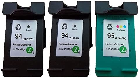 quimooz® Cartuchos de tinta Replacement para HP94 C8765WN HP95 ...