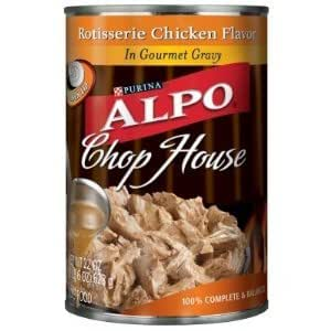 Brand With Chop House Canned Dog Food