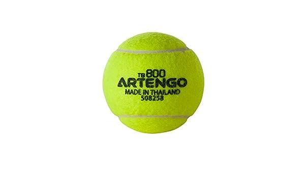 Starsands pelotas de tenis Artengo 800 Tb jugadores novatos regulares Enthusiast: Amazon.es: Deportes y aire libre