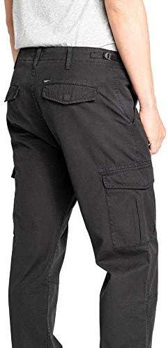 Lee Fatigue Pantalon Relaxed pour homme Noir