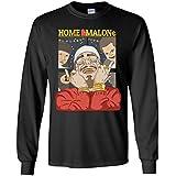 TeePowers Home Malone Funny Home Alone Christmas Movie Long Sleeve