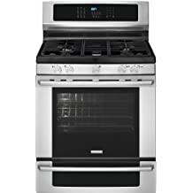 """Electrolux EI30GF35JSIQ-Touch 30"""" Stainless Steel Gas Sealed Burner Range - Convection"""