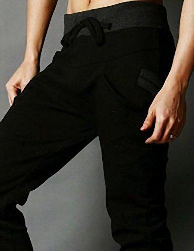 [パリド] サルエル スウェット ジョガー パンツ トレーニング S ~ 4XL