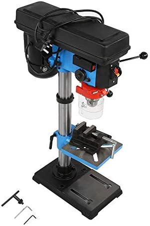 Industrial Hand Adjustable Height Drill Press Stand Workbench UK Plug 220V Drill Press Stand with Vice
