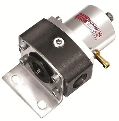 Professional Products 10686 Black/Aluminum 2-Port EFI Fuel Regulator with 3/8 NPT Ports