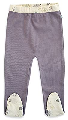 Finn + Emma Organic Cotton Footed Pants for Baby Boy/Girl