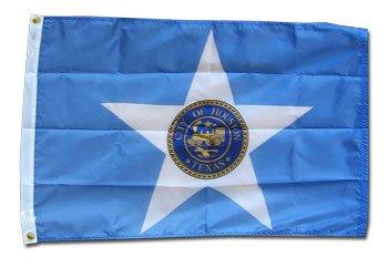 Houston – 3′ x 5′ Nylon City Flag