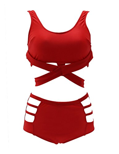 GWELL Waist Strappy Bikini Swimsuit product image