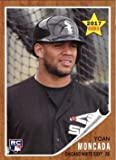 2017 Topps Throwback Thursday TBT Baseball #21 Yoan Moncada Rookie Card - Chicago White Sox. According to the Topps web site, this card has a print run of 1,329, meaning, only 1,329 of these cards were made. Near Mint to Mint condition. Buy m...