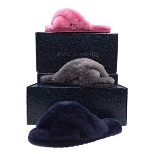 Señoras Emu De Lujo Chicle Mayberry Bubblegum En Piel 8 Oveja Zapatillas Australiano qTqOtUgy6