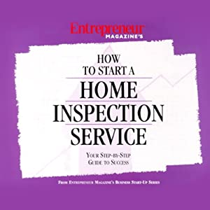 How to Start a Home Inspection Service Audiobook