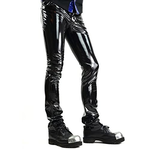 41db491a 24HRS by Lip Service Black Vinyl PVC Gothic Punk Rocker Cyber Goth Jeans  Pants cheap