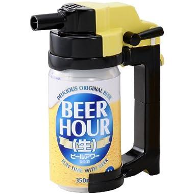 Takara Tomy Beer Hour Beer Can Dispenser Foam Head Maker