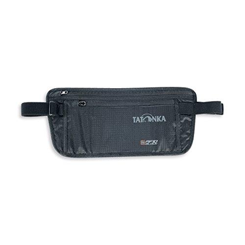 Tatonka Skin Moneybelt Int. RFID B – flache Bauchtasche mit TÜV-zertifiziertem RFID-Blocker und zwei Reißverschluss…